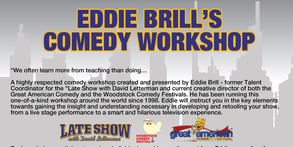 Eddie Brill Comedy Workshop