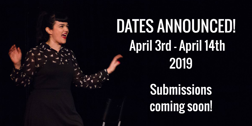 Dates Announced for 2019